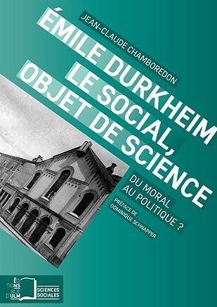 EMILE DURKHEIM,LE SOCIAL,OBJET DES SCIENCES