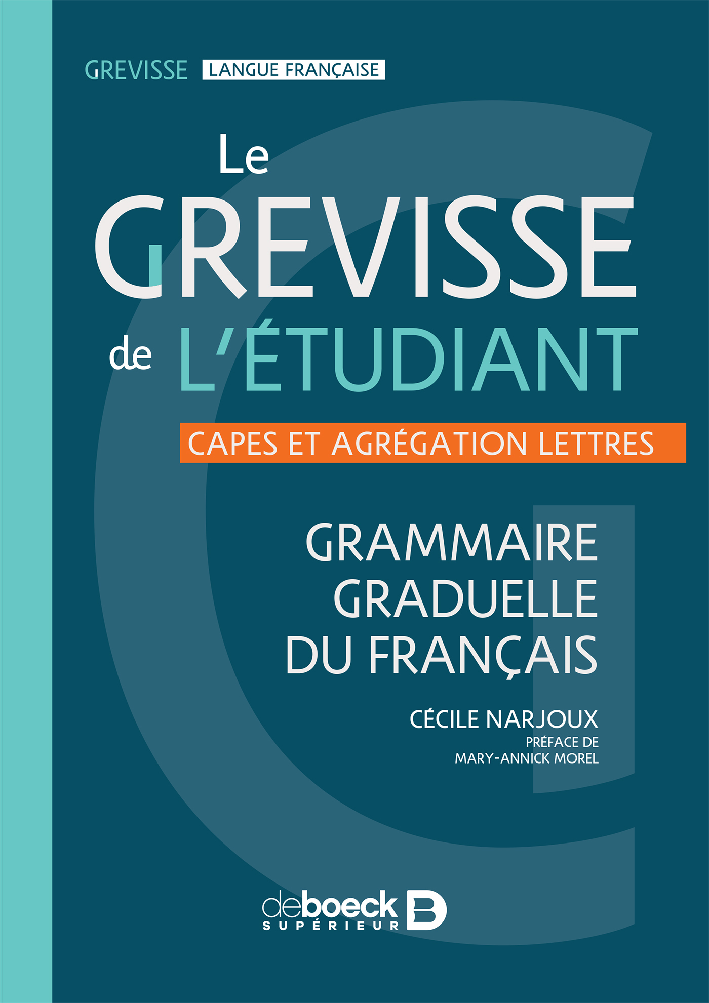 GREVISSE DE L'ETUDIANT (LE)