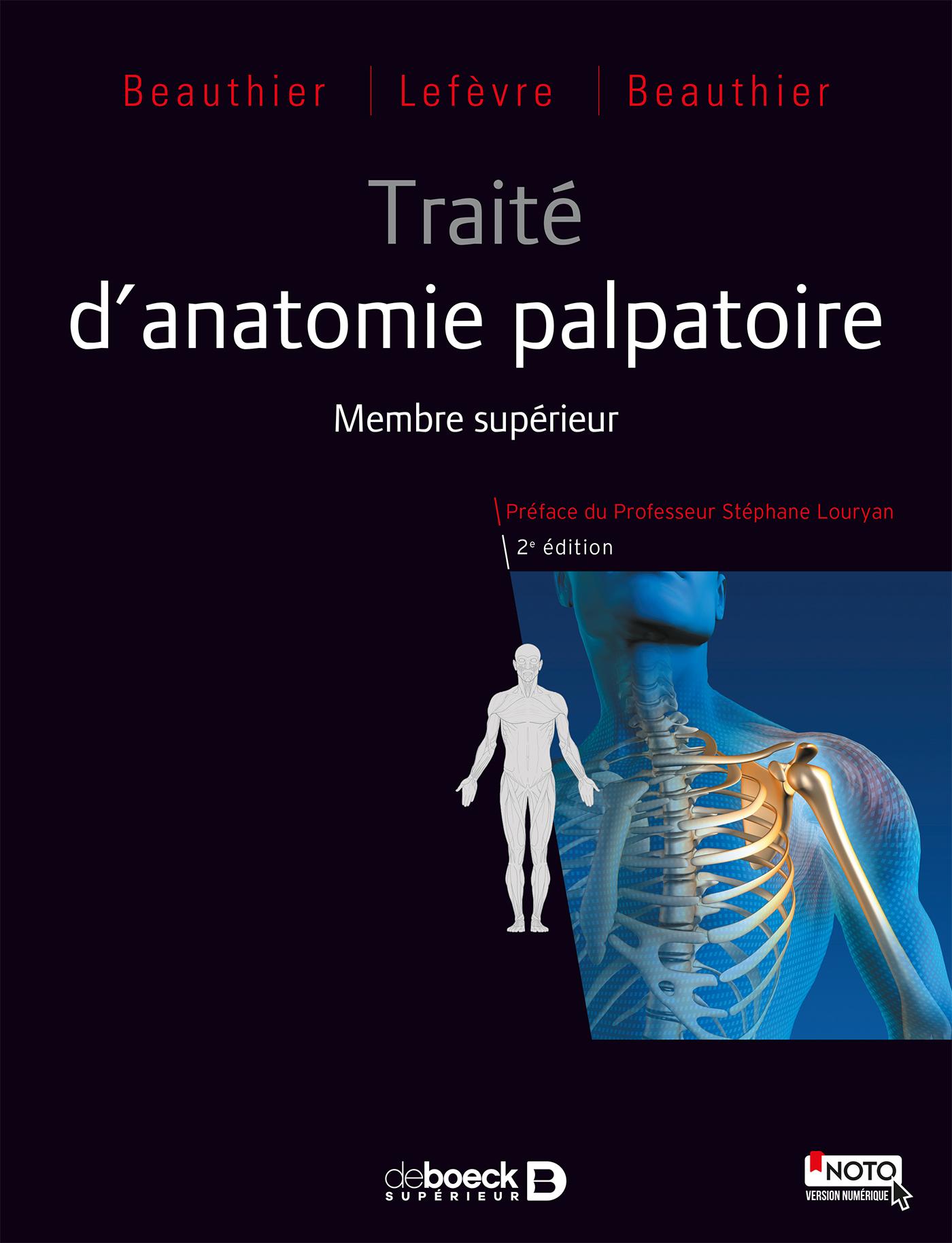 TRAITE D'ANATOMIE PALPATOIRE