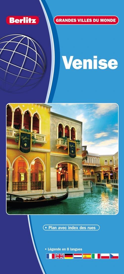 VENISE - CARTE ROUTIERE ET TOURISTIQUE