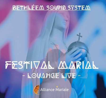 CD - FESTIVAL MARIAL - LOUANGE LIVE