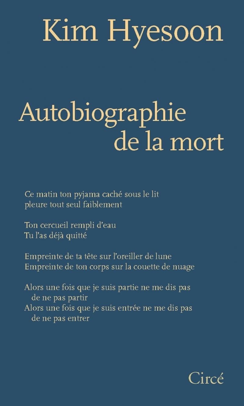 AUTOBIOGRAPHIE DE LA MORT