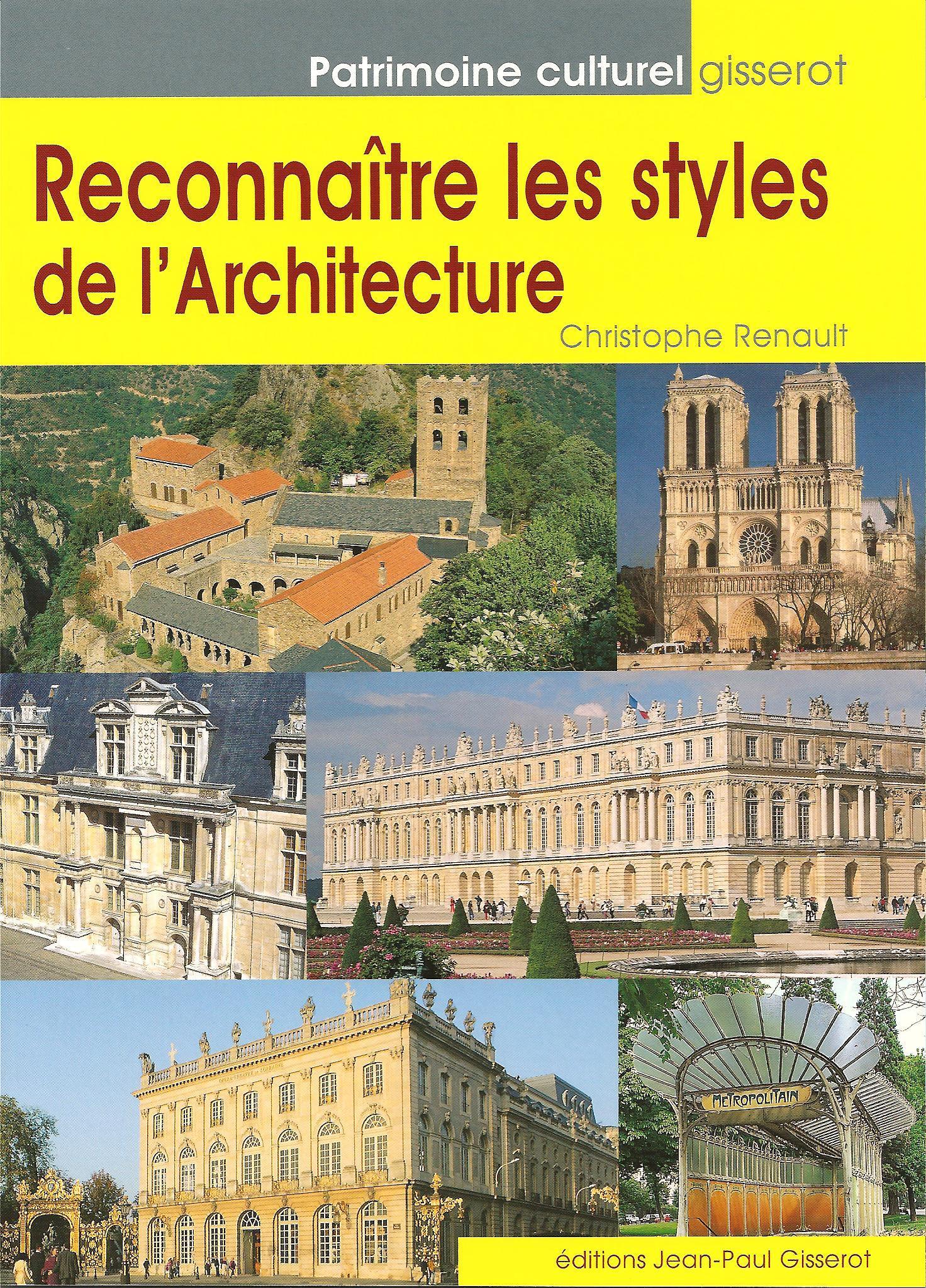 RECONNAITRE LES STYLES DE L'ARCHITECTURE