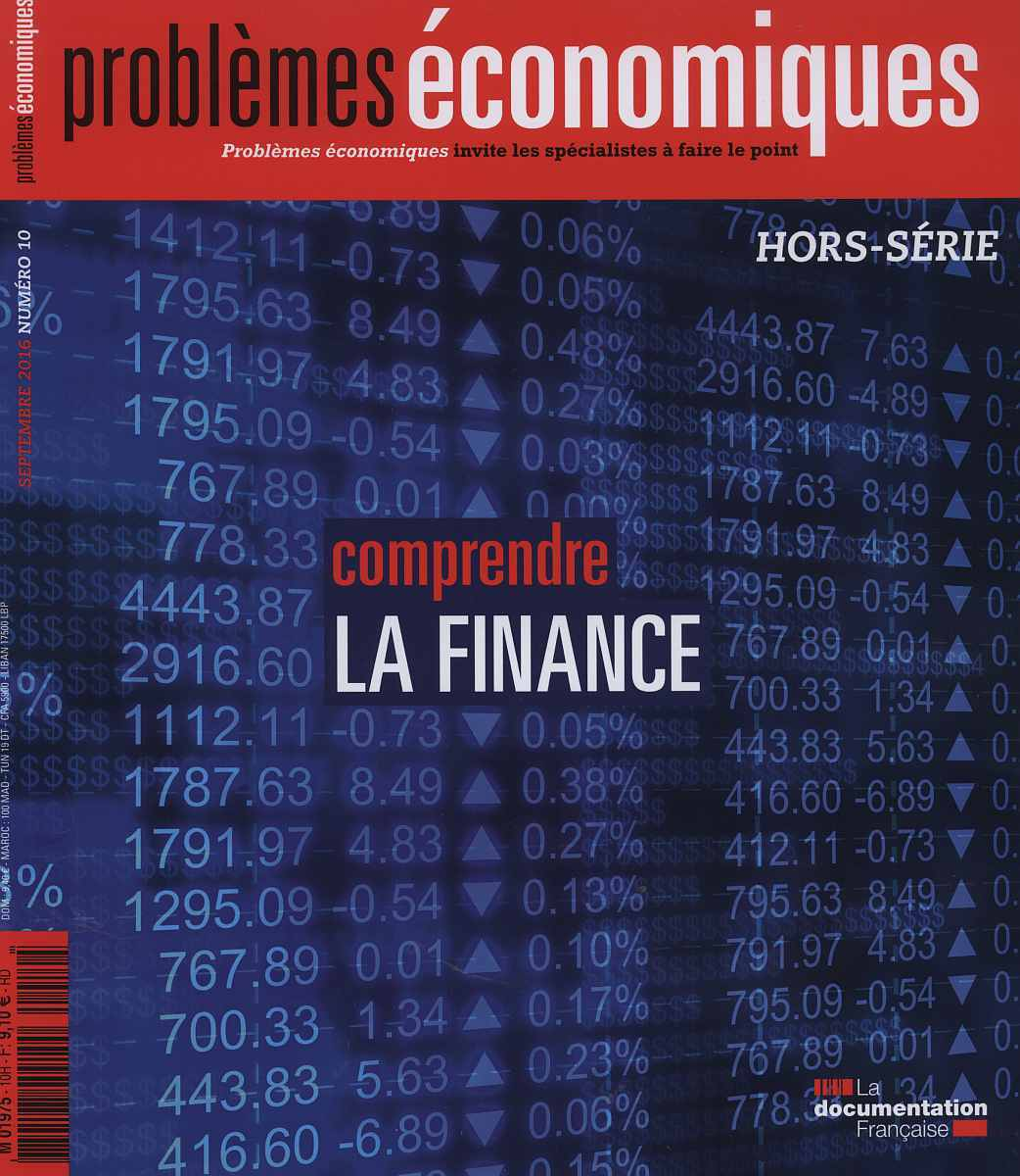 COMPRENDRE LA FINANCE - HS PE N  10
