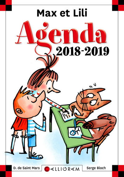 AGENDA SCOLAIRE 2018-2019
