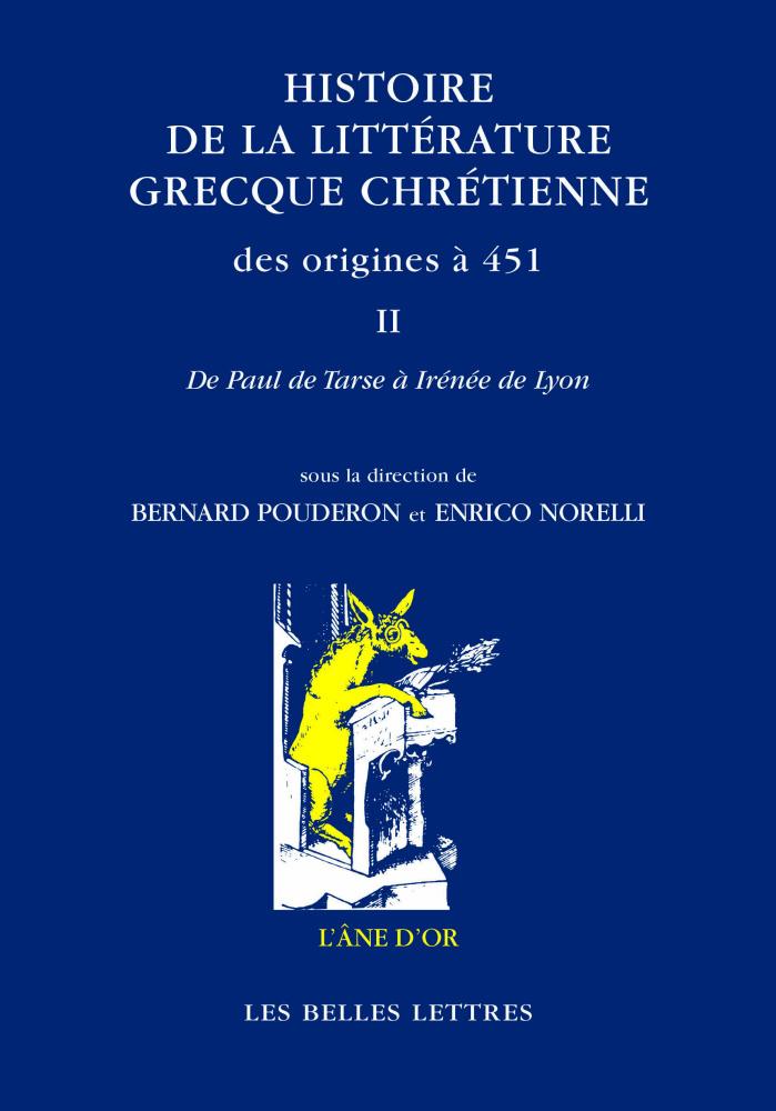 HISTOIRE DE LA LITTERATURE GRECQUE CHRETIENNE...T2