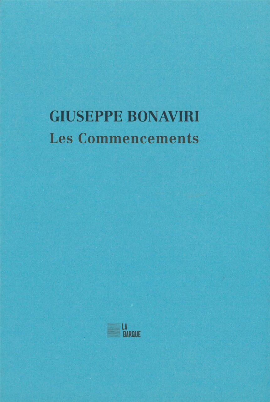 COMMENCEMENTS (LES)
