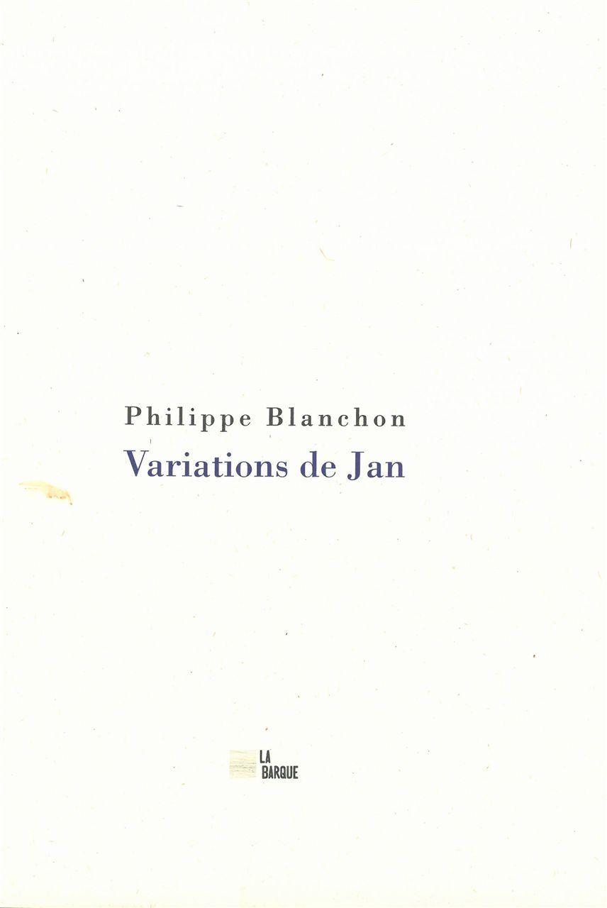 VARIATIONS DE JAN