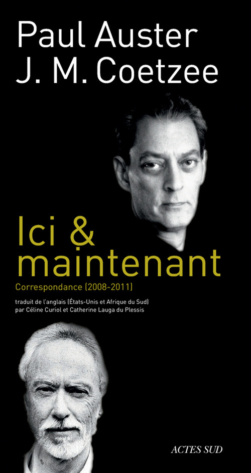 ICI & MAINTENANT   CORRESPONDANCE 2008-2011