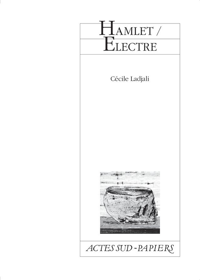 HAMLET / ELECTRE
