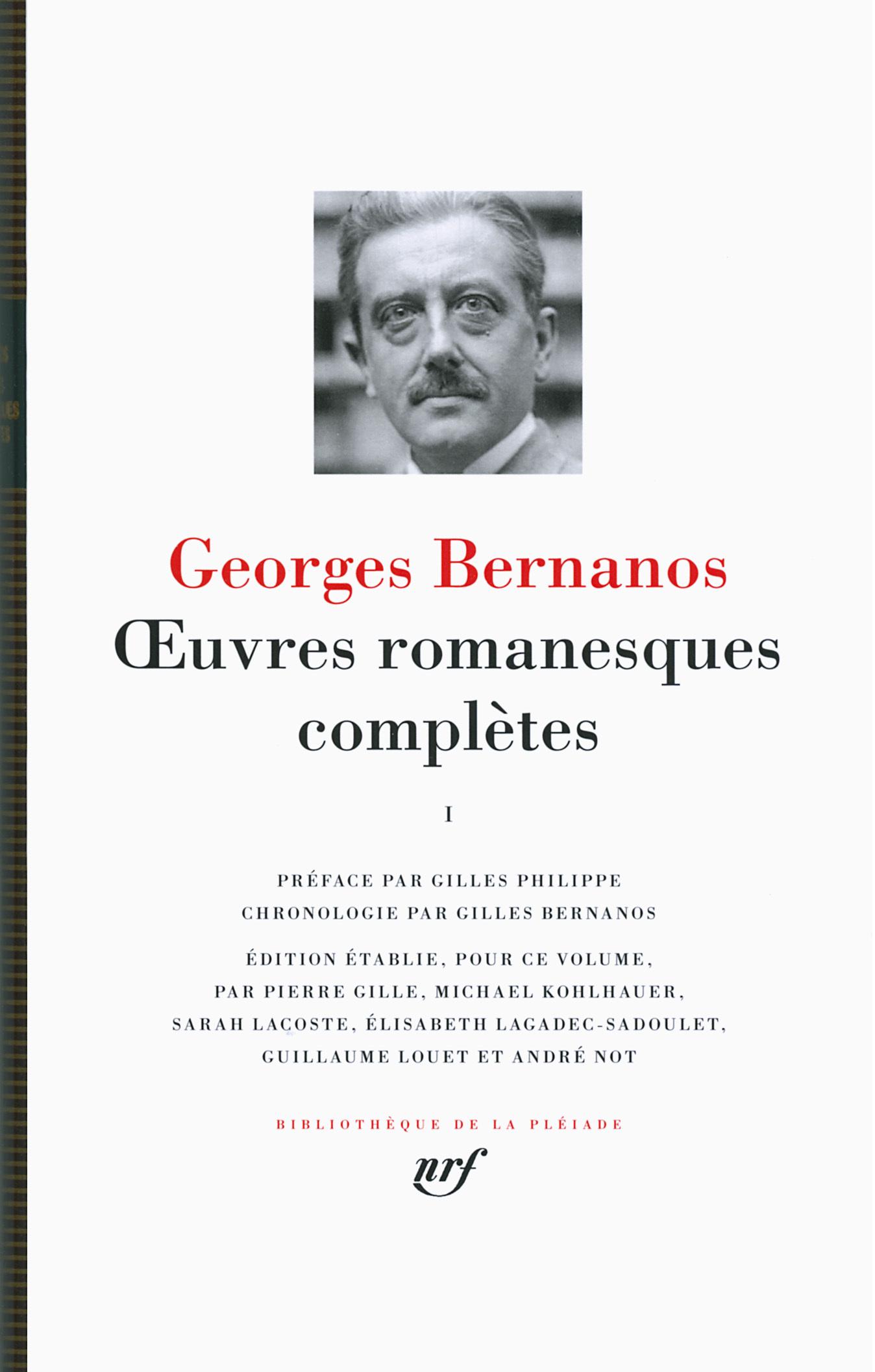 OEUVRES ROMANESQUES COMPLETES/DIALOGUES DES CARMELITES T1