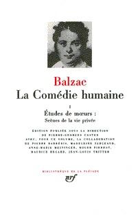 LA COMEDIE HUMAINE T1