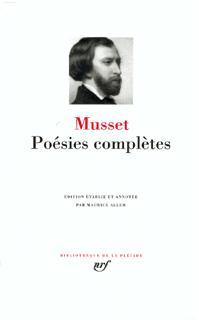 MUSSET POESIES COMPLETES