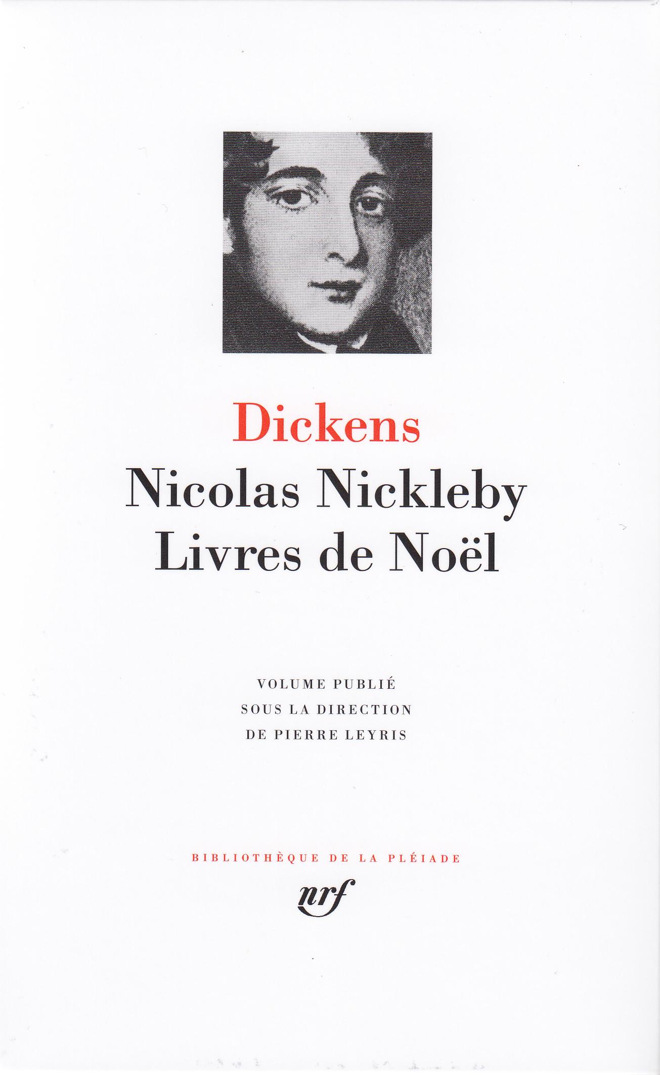 NICOLAS NICKLEBY / LIVRES DE NOEL