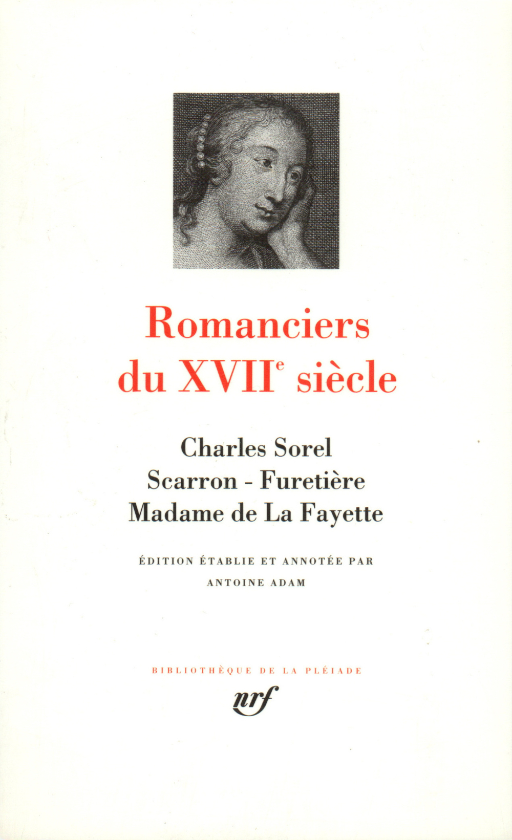 ROMANCIERS DU XVIIE SIECLE