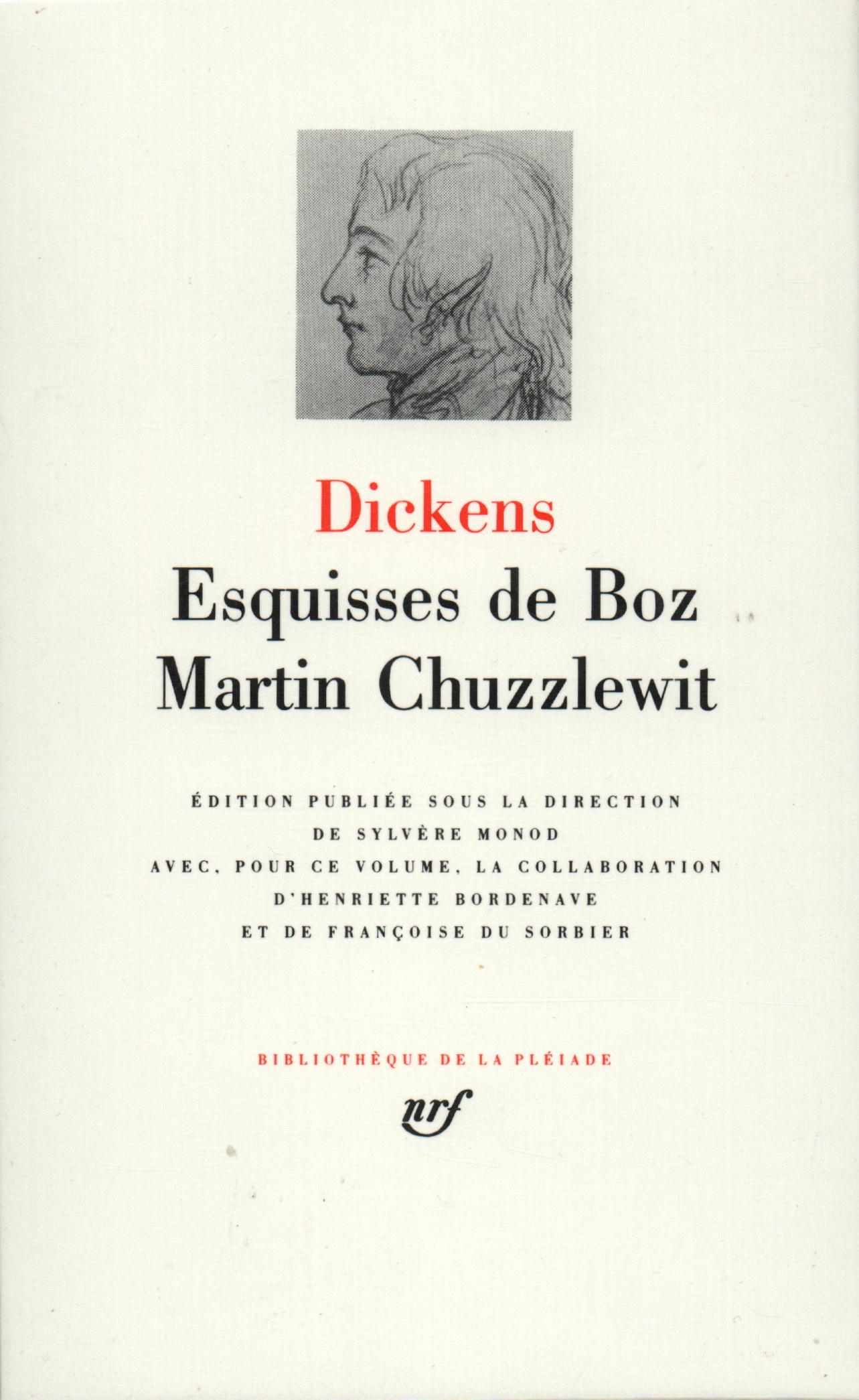 ESQUISSES DE BOZ / MARTIN CHUZZLEWIT