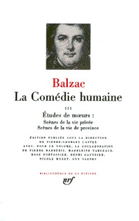 LA COMEDIE HUMAINE T3