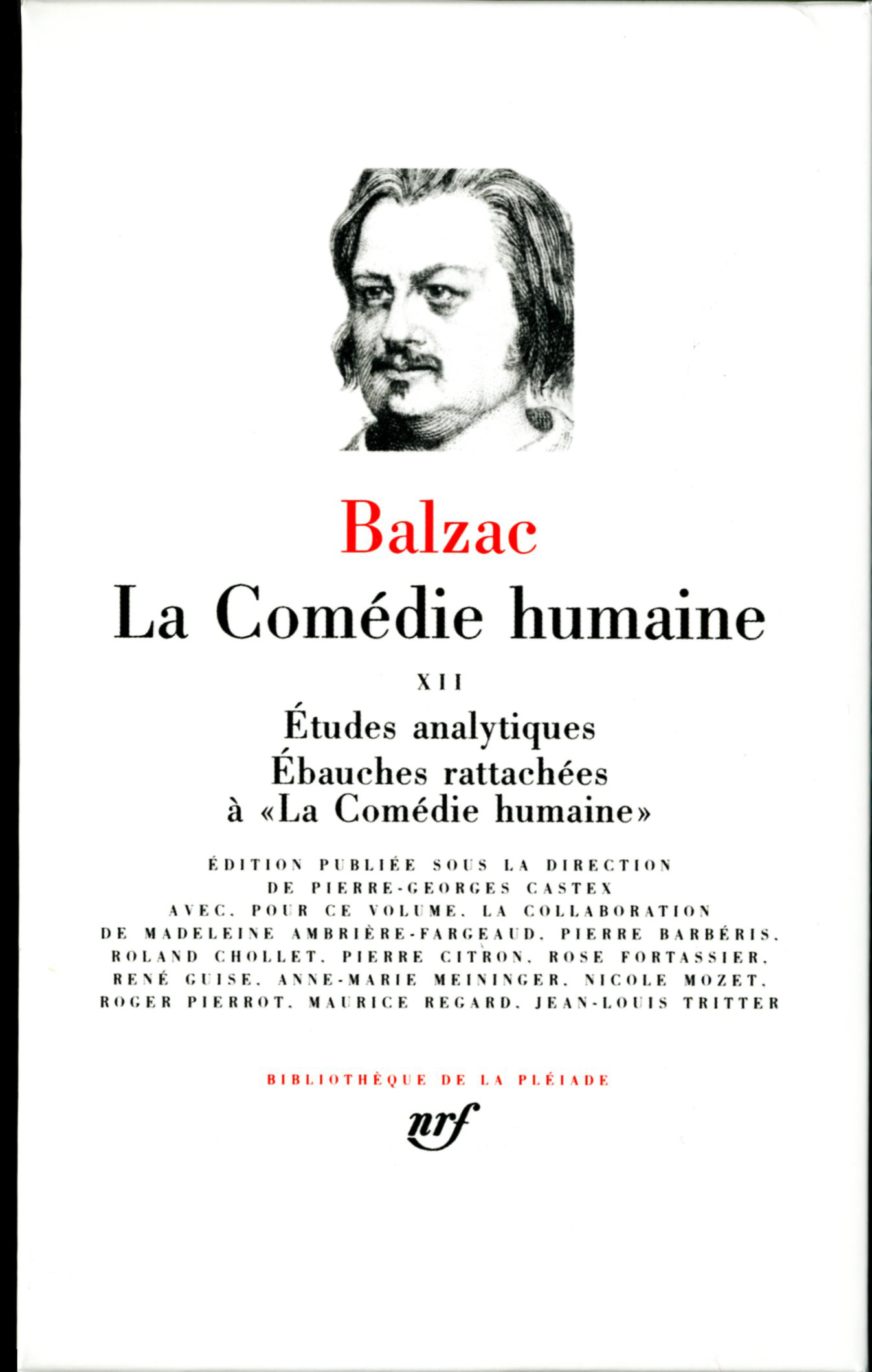 LA COMEDIE HUMAINE T12