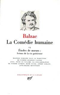 LA COMEDIE HUMAINE T6
