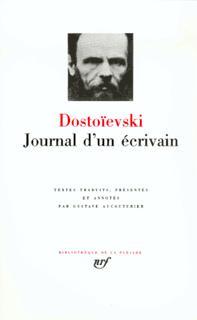 JOURNAL D'UN ECRIVAIN