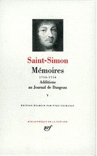 MEMOIRES / ADDITIONS AU JOURNAL DE DANGEAU T5