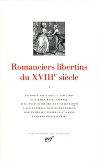 ROMANCIERS LIBERTINS DU XVIIIE SIECLE T1