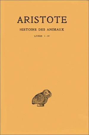 HISTOIRE DES ANIMAUX T1 L1-4