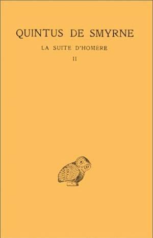SUITE D'HOMERE T2 L5-9 (LA)