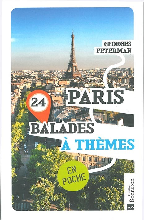 PARIS 24 BALADES A THEMES EN POCHE