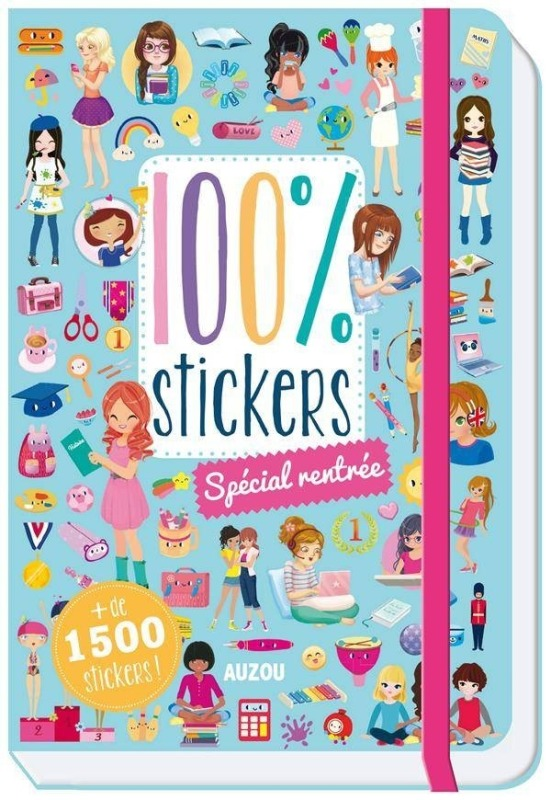 100 STICKERS - SPECIAL RENTREE