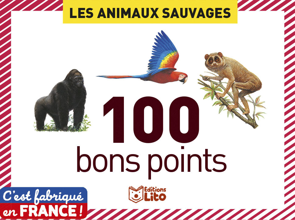 100 BONS POINTS ANIM. SAUVAGES