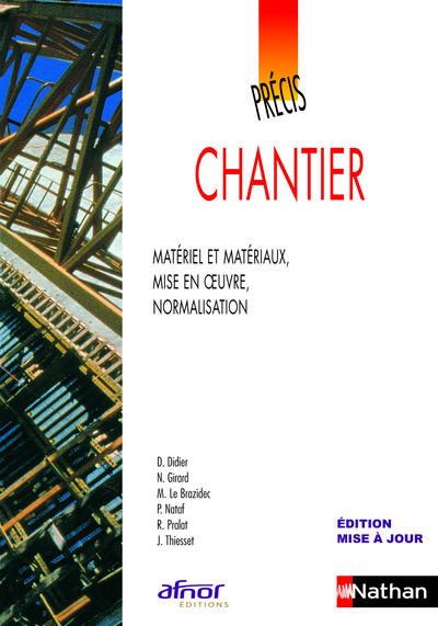 AFNOR PRECIS DE CHANTIER 2009