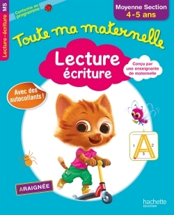 TOUTE MA MATERNELLE - LECTURE ECRITURE MOYENNE SECTION