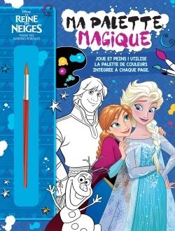 MAGIE DES AURORES BOREALES, REINE DES NEIGES, MA PALETTE MAGIQUE