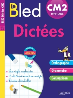 CAHIER BLED - DICTEES CM2
