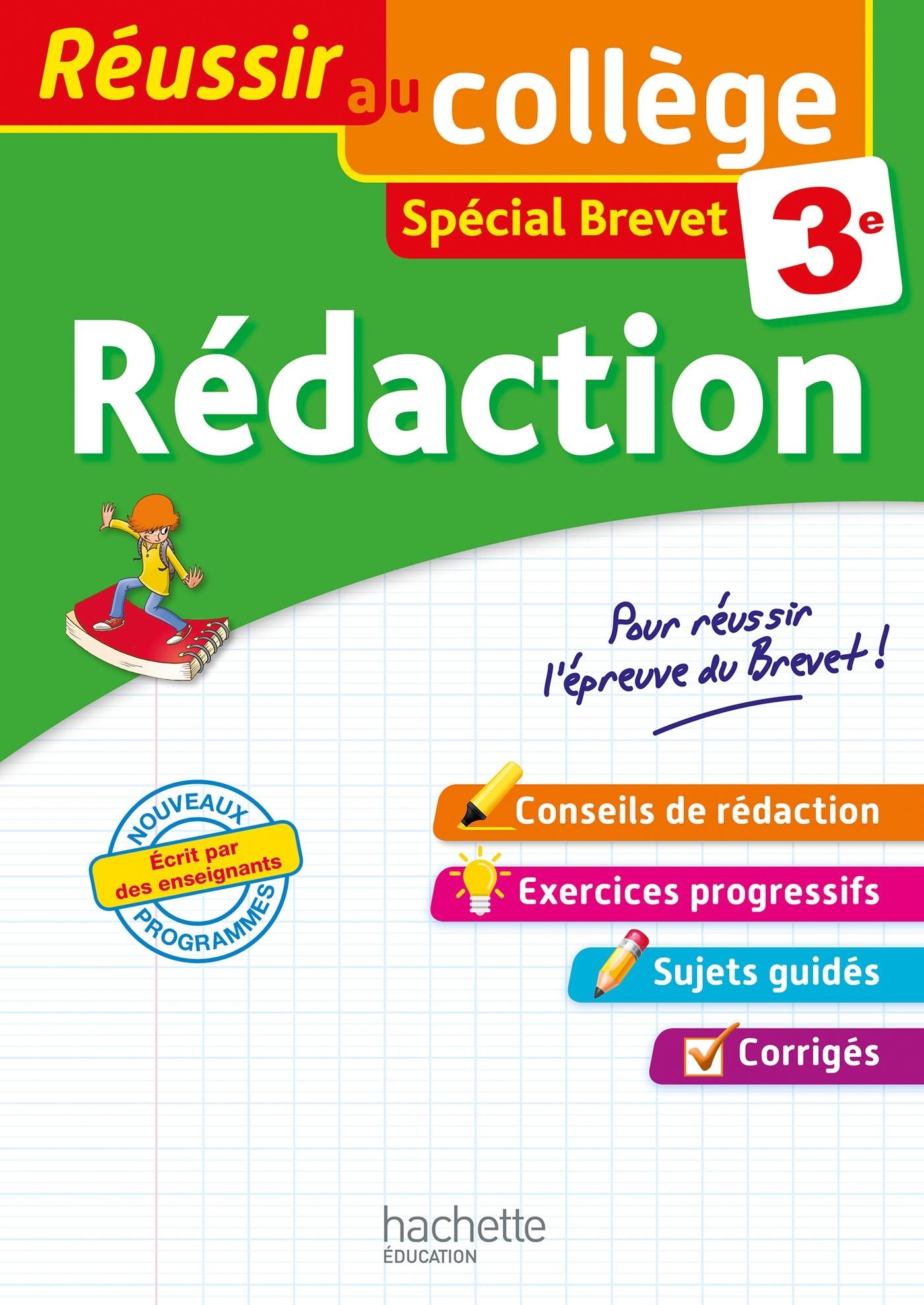 REUSSIR AU COLLEGE - REDACTION 3E