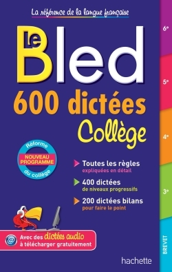BLED 600 DICTEES COLLEGE