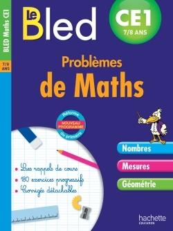 CAHIER BLED - PROBLEMES DE MATHS CE1