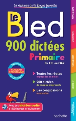BLED 900 DICTEES PRIMAIRE