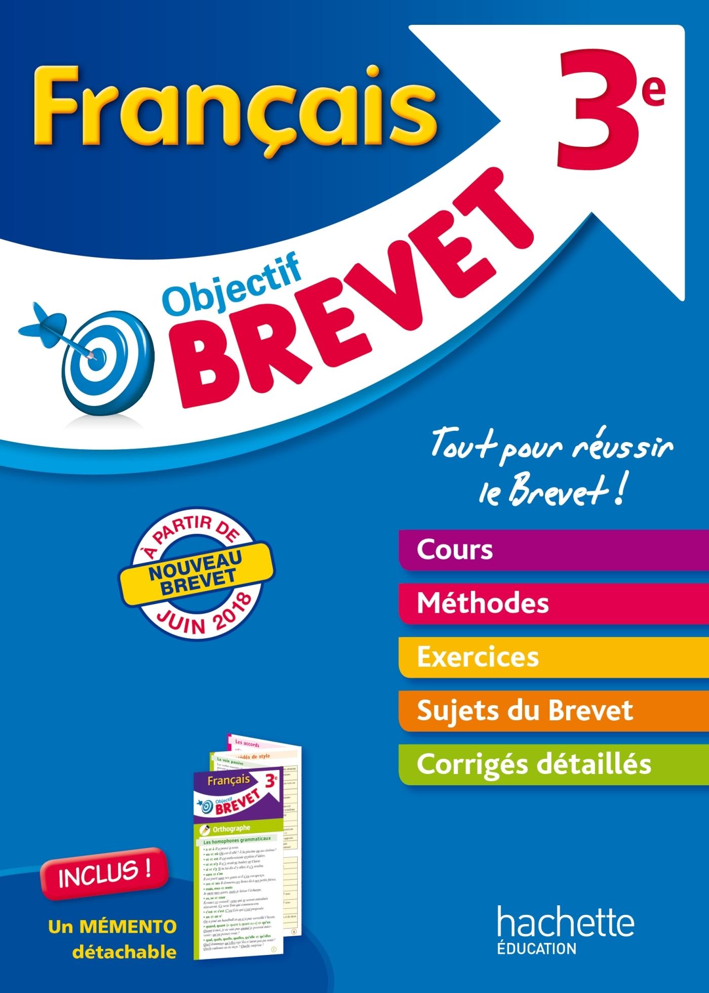OBJECTIF BREVET - L'EPREUVE DE FRANCAIS