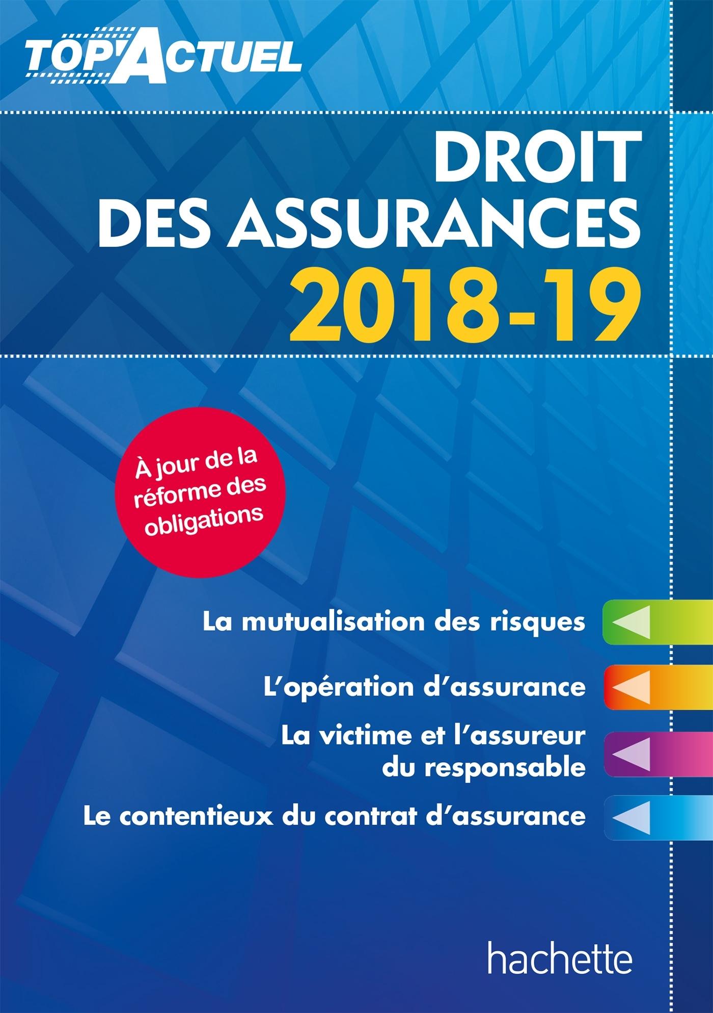TOP'ACTUEL DROIT DES ASSURANCES 2018-2019