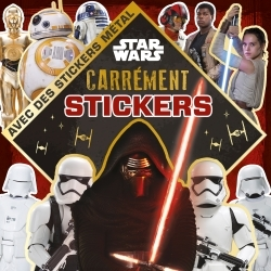 STAR WARS, MINI CARREMENT STICKERS