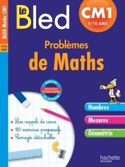 CAHIER BLED - PROBLEMES DE MATHS CM1