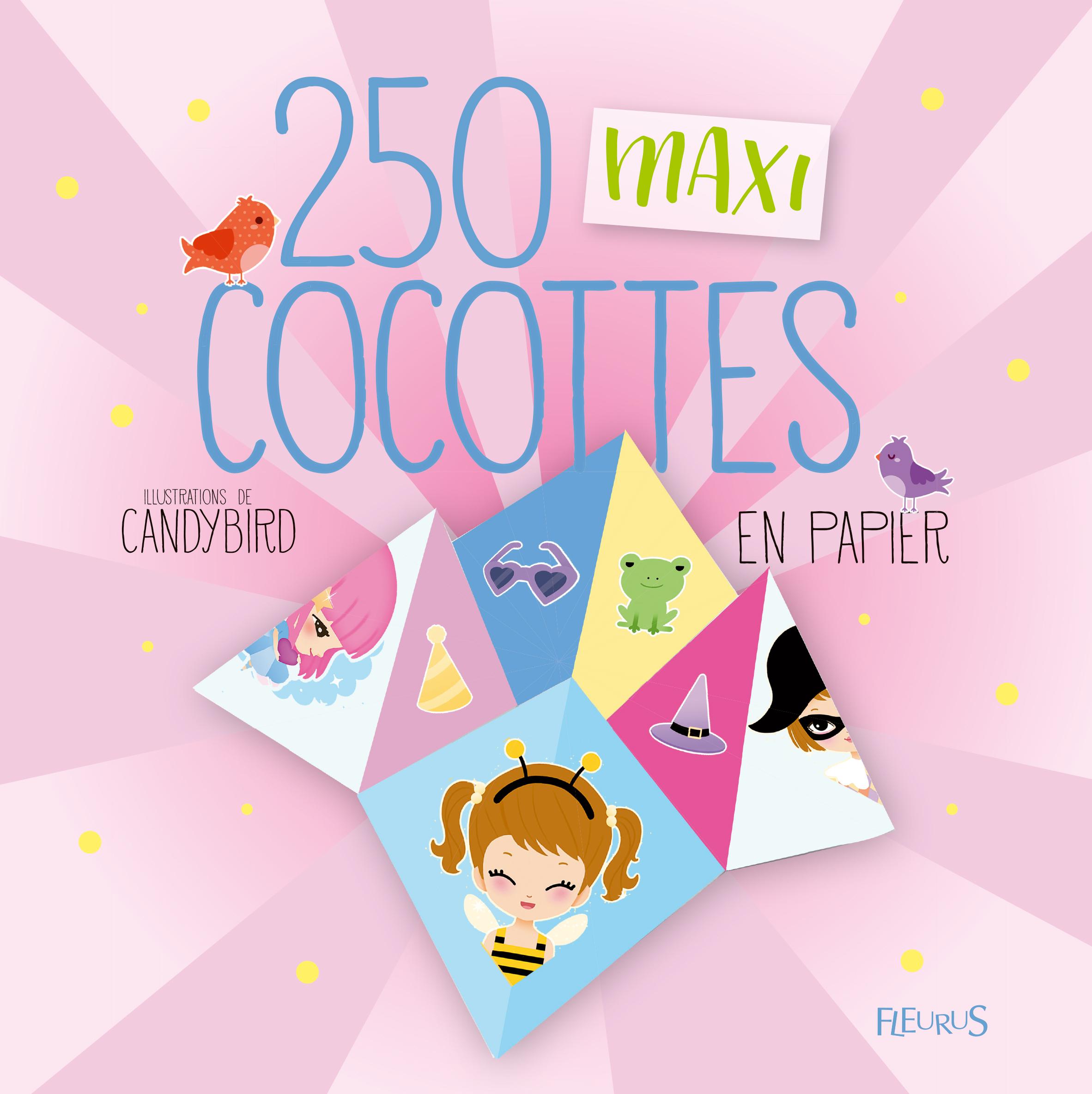 250 MAXI COCOTTES EN PAPIER