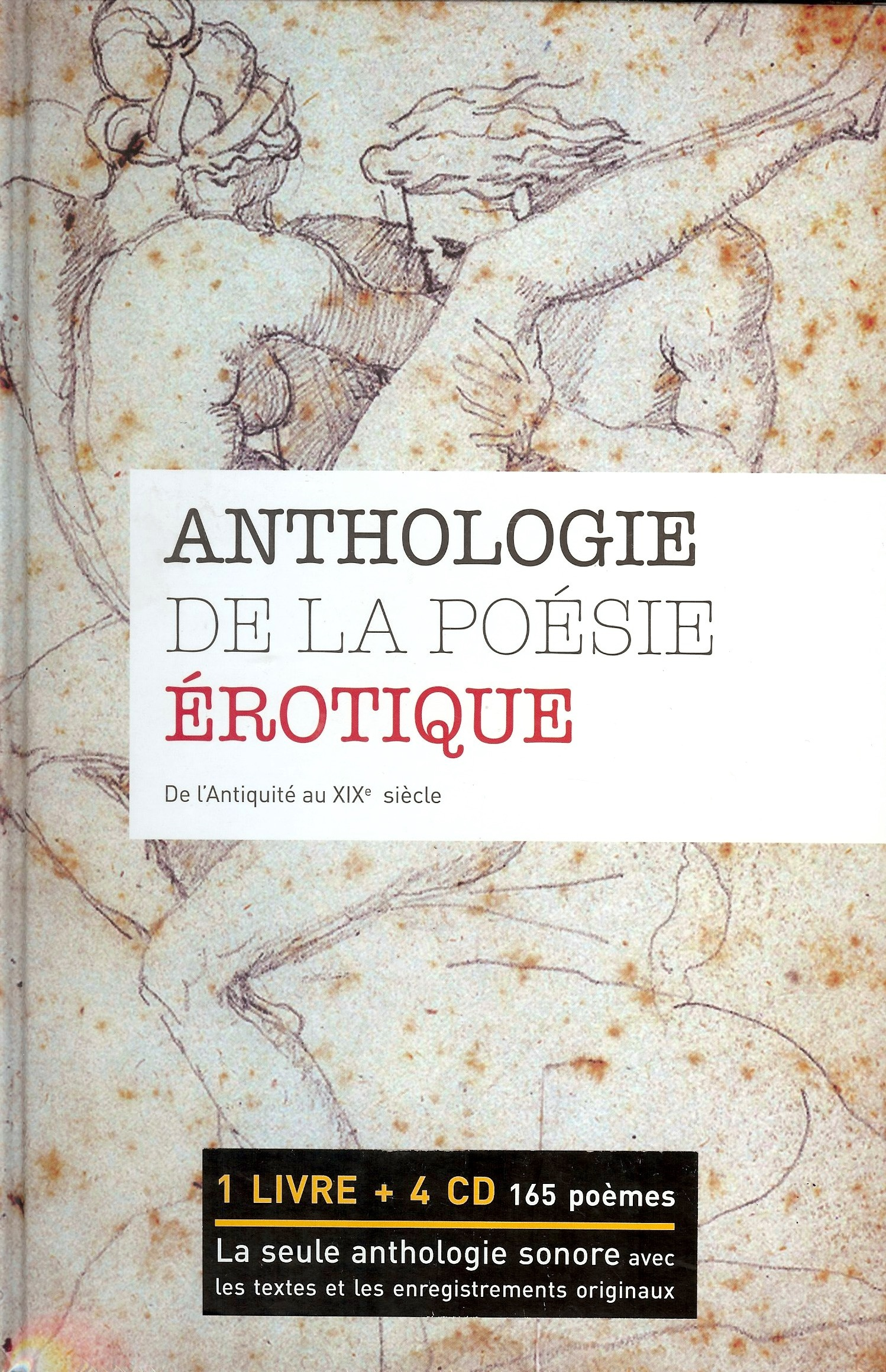 ANTHOLOGIE DE LA POESIE EROTIQUE