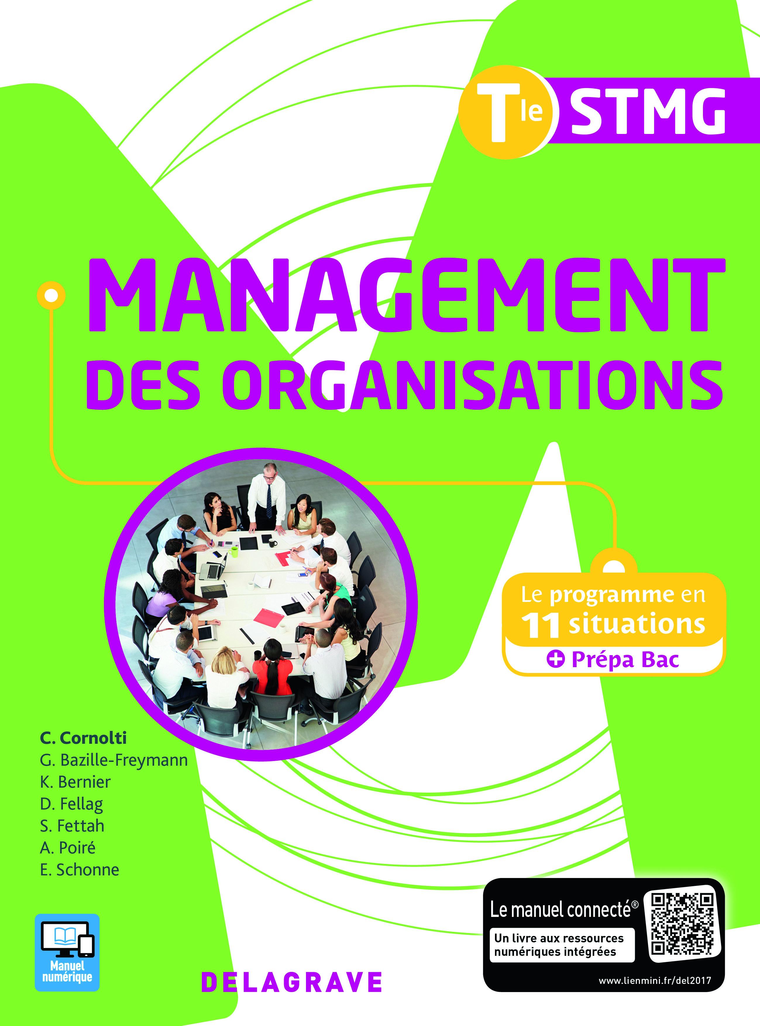 MANAGEMENT DES ORGANISATIONS TLE STMG ELEVE 2017