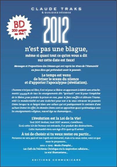 2012 N'EST PAS UNE BLAGUE, MEME SI QUASI TOUT CE QU'ON VOUS A DIT... EST FAUX !