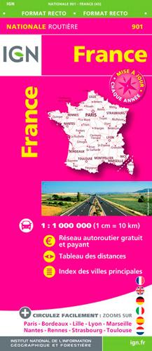 1M901 FRANCE ROUTIERE MAXI FORMAT 2018