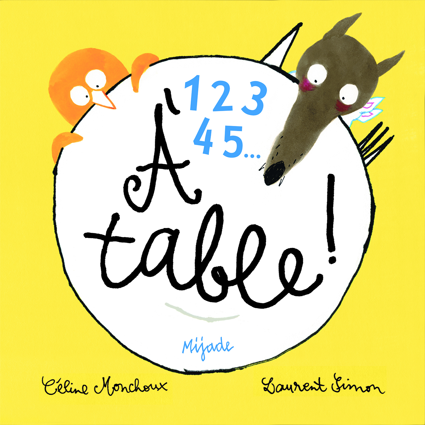 1 2 3 4 5 A TABLE