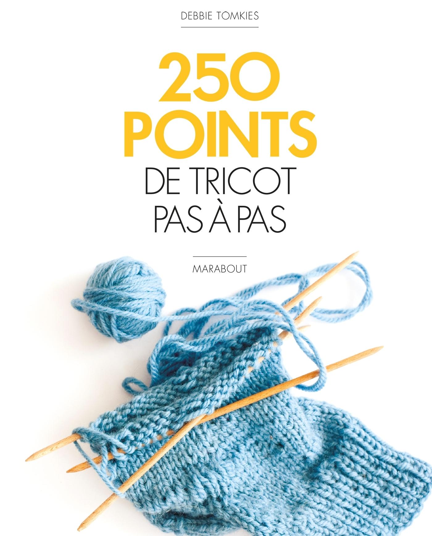250 POINTS DE TRICOT PAS A PAS